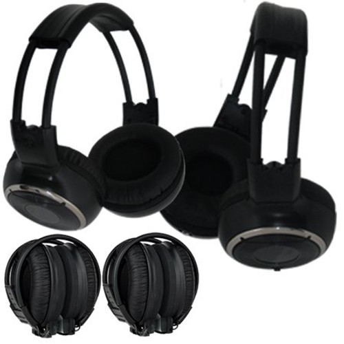 Absolute AWH22 Infrared Wireless Stereo Dual Headphone with IR Wireless Transmitter