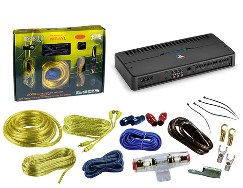 Car Audio & Video - Car Amplifier & Accessories - 5-Channel ... on monoblock amp wiring, 5 channel subwoofer, speaker amp wiring, car stereo amp wiring, 1000 watt amp wiring, 5 channel radio,