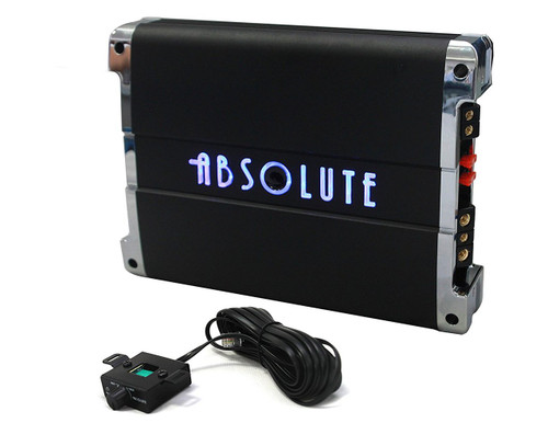 Absolute USA BLA-3500D Class D 3500W Max Blast Series Monoblock Car Amplifier