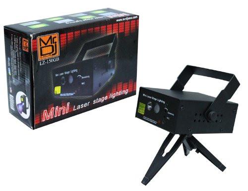 MR.DJ LZ-150GB MINI LASER FLOWER BEAM EFFECT BLUE/GREEN