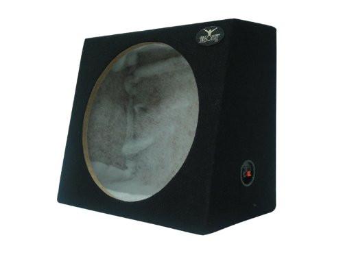 ABSOLUTE USA SAG12 HEAVY DUTY SEALED BACK-ANGLE SINGLE 12-INCH SUBWOOFER ENCLOSURE BOX