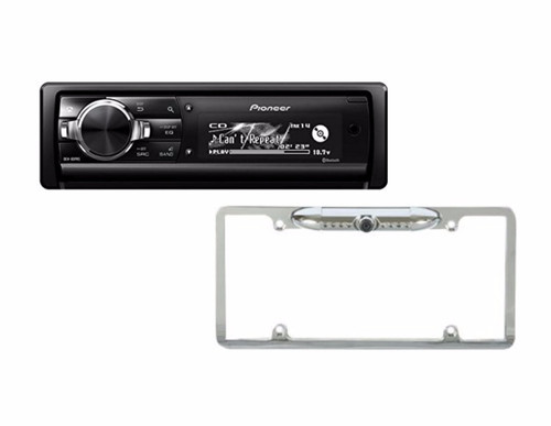 Pioneer DEH-80PRS with Absolute Cam-1000 Silver back up camera