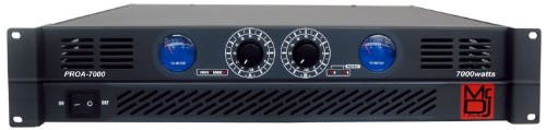 MR.DJ PROA7000 PRO SERIES POWER DJ AMPLIFIER WITH 2 CHANNELS AND 7000 WATTS PEAK MOMENTARY POWER OUTPUT