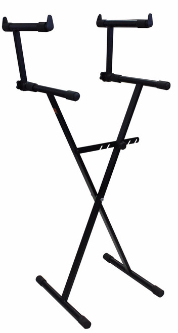 Mr Dj KS550 X Style Pro Dual Music Keyboard Stand