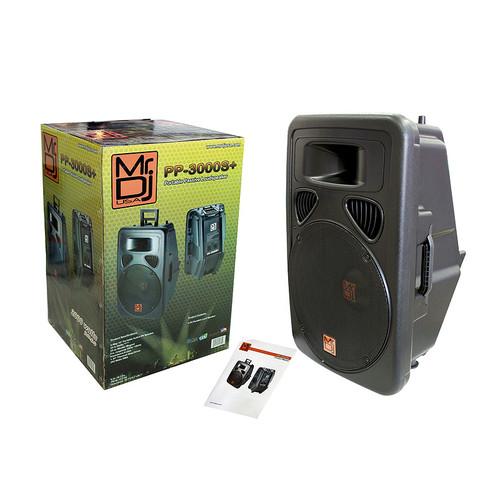 """MR DJ PP3000S 15"""" 2500 WATTS MAX FULL RANGE PASSIVE LOUDSPEAKER WORKS WITH ALL DJ EQUIPMENT"""