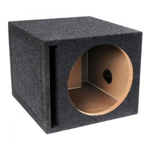 ABSOLUTE USA VEGS10 SINGLE 10-INCH SLOT VENTED PORTED SUBWOOFER ENCLOSURE