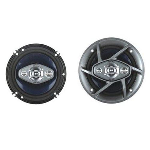 Absolute ADS-403 240-Watt 4-Inch 3-Way Dynamic Series Car Speakers (Pair)
