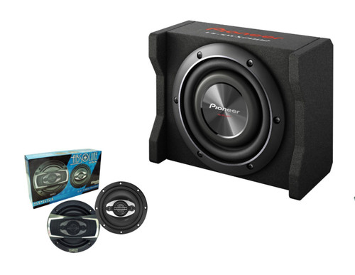 """Pioneer TS-SWX2002 with Absolute SP654 6.5"""" speakers"""