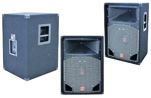 """MR DJ COMS15 2-Way PA DJ Speaker, 15"""" 2500 Watts with 2"""" Titanium Driver 430W RMS"""