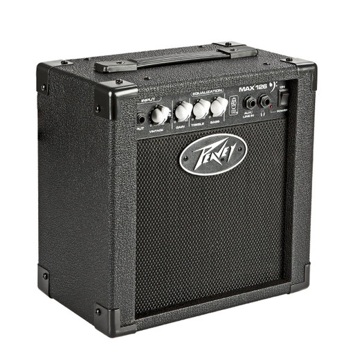 "Peavey MAX 126 1x6.5"" 10-Watt Bass Combo  Amp with 6-1/2"" Speaker and Selectable Vintage Gain Control"