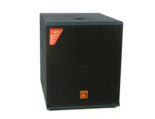 "Mr. Dj PRO6000AMP 18"" 6000W Professional Series Active/Pre Amplified Subwoofer"