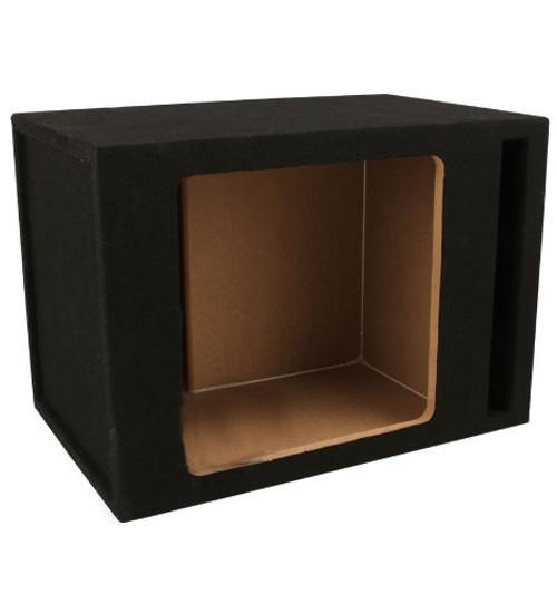 Absolute SKS12V Single 12-Inch Solo-Baric Square Slot-Ported Sub Box