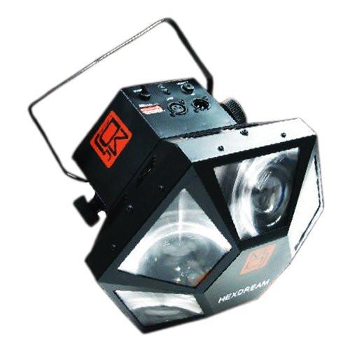 MR.DJ HEXDREAM SIX LED STAGE LIGHTNING 4 CHANNEL DMX 512 LED MULTI COLORED EFFECT