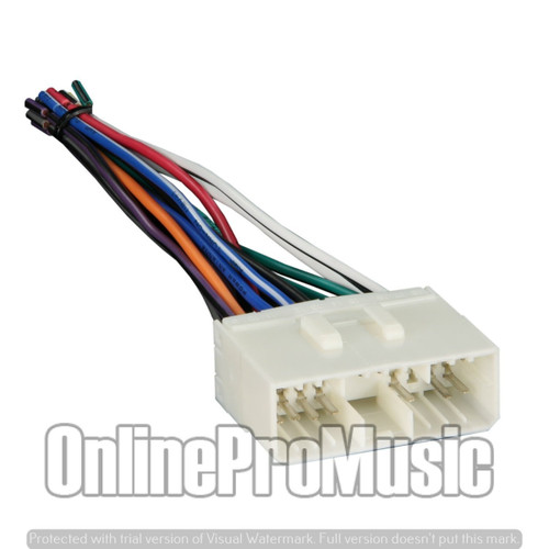 Absolute A664-8405 Radio Wiring Harness for GM/Suzuki/Daewoo 99-Up