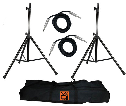 Mr. Dj SS750PKG Tripod Speaker Stand Package with Bag