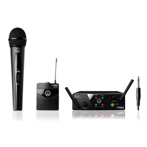 AKG WMS40 MINI2 Dual Vocal and Instrument Wireless System