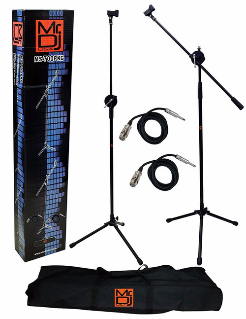 Mr. Dj MS-700OKG Heavy-Duty Tripod Microphone Stand