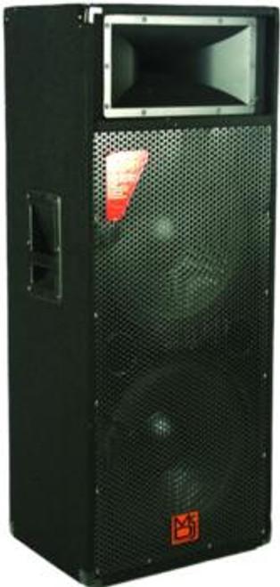 """Mr DJ PSD3000 Dual 15"""" 3000W Max DJ Loud Speaker"""