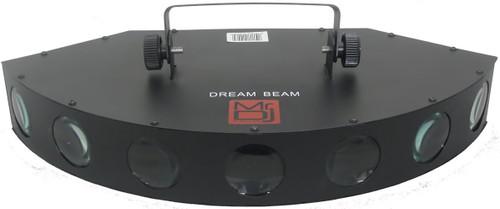 MR DJ DREAMBEAM 11 CHANNEL DMX 7 LENS MULTICOLOR LED MOONFLOWER STAGE LIGHTING