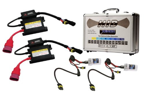 HID Digital H10-8000K Xenon High Intensity Discharge Conversion Kit with Digital Ballasts