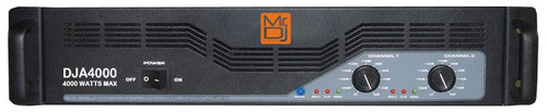 Mr. Dj DJA4000 Amplifier Equipment