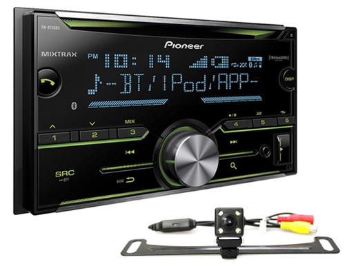 PIONEER FH-X730BS 2-DIN CAR MP3 MP4 CD BLUETOOTH STEREO FREE ABSOLUTE CAM-900 REAR VIEW CAMERA