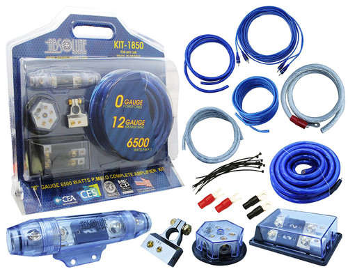 ABSOLUTE USA KIT-1850 COMPLETE GAUGE AMPLIFIER INSTALLATION KIT