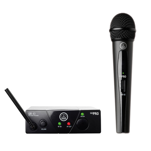 AKG Pro Audio WMS40 Mini Vocal Set BD US45C Wireless Microphone System