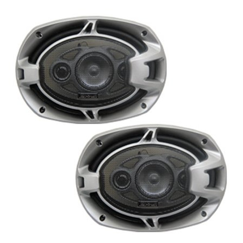 ABSOLUTE BLS-6904 BLAST SERIES 6 x 9 INCHES 4 WAY CAR SPEAKERS 800 WATTS MAX POWER