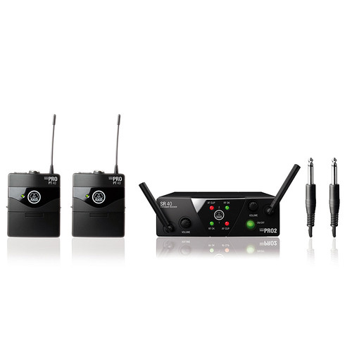 AKG WMS40 MINI2 Wireless Dual Instrument Set