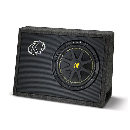 """Kicker 10TC104 Ported truck enclosure with one 4-ohm 10"""" Comp subwoofer"""