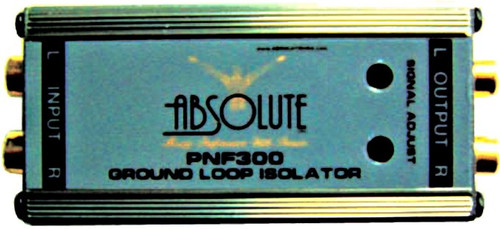 Absolute PNF300 Power Noise Filter/Ground Loop Isolator With Adjustable Controls