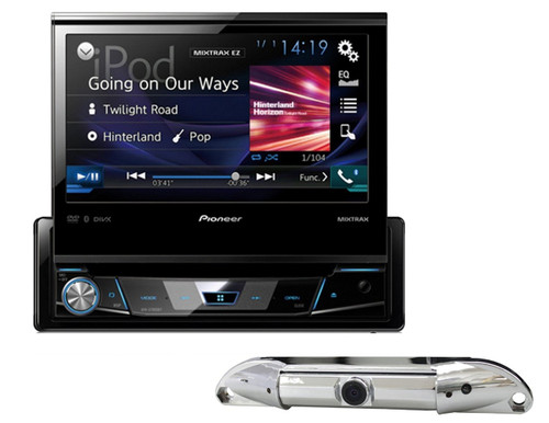 """PIONEER AVH-X7800BT 7"""" FLIP OUT SCREEN CAR DVD BLUETOOTH STEREO FREE ABSOLUTE CAM-800 REARVIEW CAMERA"""