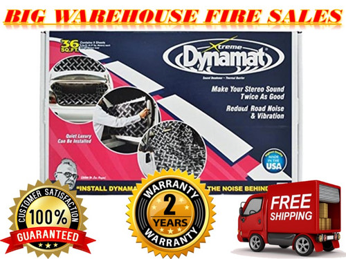 Original brand new Dynamat 10455 Xtreme Bulk Pack 36 SQ FT (9 Sheets)
