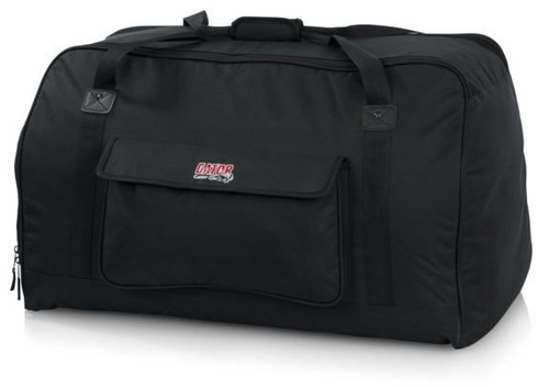 "GATOR GPA-TOTE15 HEAVY-DUTY SPEAKER TOTE BAG FOR COMPACT 15"" CABINETS LIGHTWEIGHT & DURABLE SPEAKER TOTES"