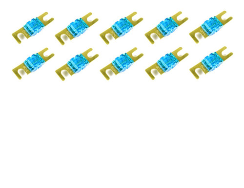 ABSOLUTE AFS60-10 10 PACK OF 60 AMP GOLD AFS / MIDI / MINI ANL FUSES
