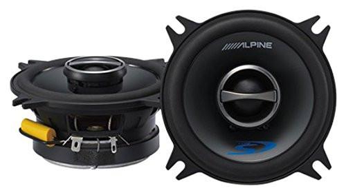 """Alpine Type-S SPS-410 280 Watt 4"""" 2-Way Type-S Series Coaxial Car Audio Speakers"""