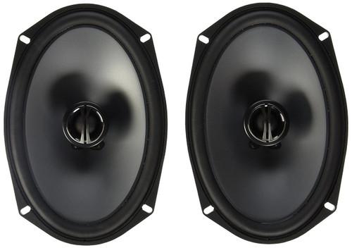 """Alpine SPE-6090 600W Peak (150W RMS) 6x9"""" 2-Way Type-E Series Coaxial Speakers w/ Silk Tweeters"""
