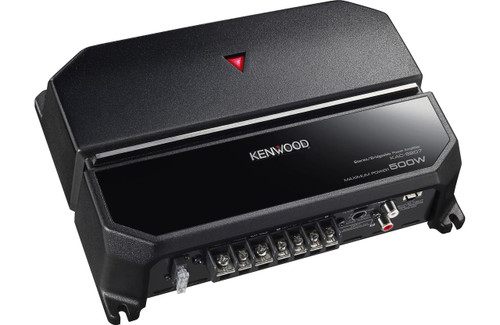 Kenwood KAC-5207 500W Max (170W RMS) KAC Series Class-AB 2-Channel 2-Ohm Stable Amplifier