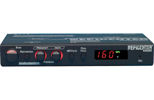 AudioControl EPICENTERINDASH In-Dash Bass Maximizer and Restoration Processor