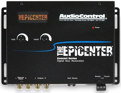 AudioControl THE EPICENTER BLACK Bass Restoration Processor
