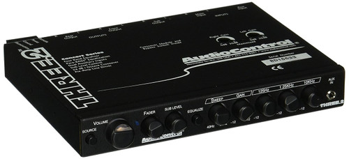 AudioControl Three.2 In-Dash Pre-Amp Equalizer / Subwoofer Crossover w/ Dual Auxiliary Inputs