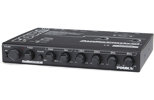 AudioControl FOUR.1 In-Dash Car Audio Equalizer with Auxiliary Input