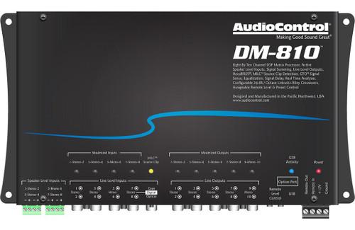 AudioControl DM-810 Premium 8 Input 10 Output DSP Matrix Processor