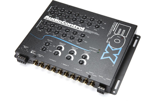 AudioControl EQX - Black 2 Channel Trunk-Mount 13 Band Equalizer with Crossover