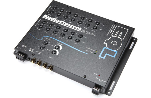 AudioControl EQL - Black 2-Channel Trunk Mount Dual Bandwidth Graphic Equalizer and Pre-Amp