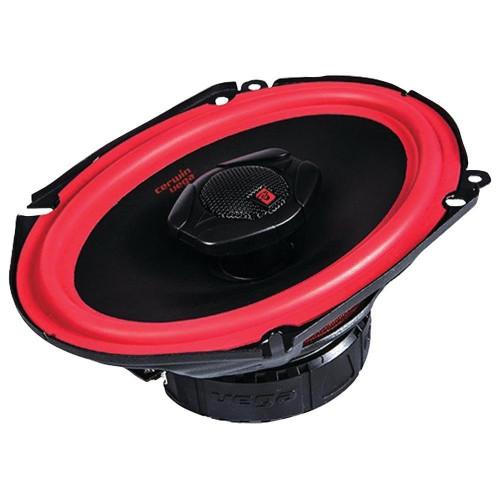 "Cerwin-Vega V468 800W Max (150W RMS) 6"" x 8"" Vega Series 2-Way Coaxial Car Speakers"