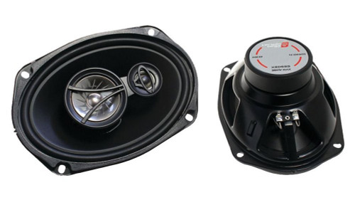 "Cerwin-Vega XED693 350W 6 x 9"" XED Series 3-Way Coaxial Car Speakers"