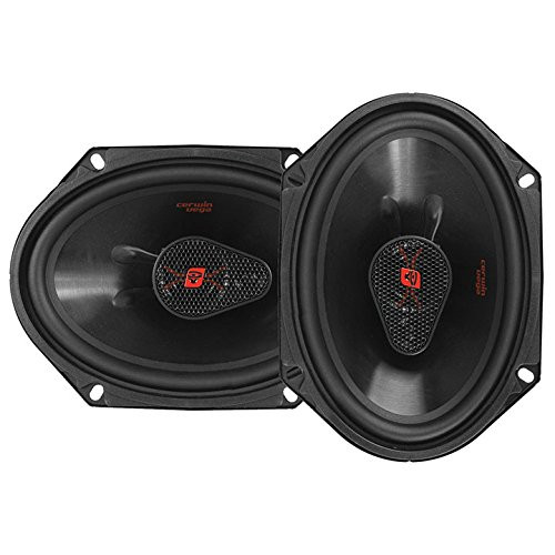 """Cerwin Vega H7683 720W Max (120W RMS) 6"""" x 8"""" HED Series 3-Way Coaxial Car Speakers"""