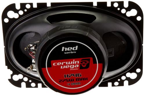 "Cerwin Vega H7TAK 600W Max (70W RMS) HED Series 1"" Flush Mount Silk Dome Tweeters"